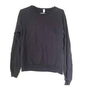 American Apparel Unisex Blue Sweatshirt Small